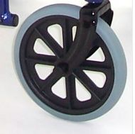 Front Castor Wheel Assembly for Aluminium Travel Chair ATC19