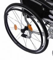 Rear Self Propel Wheel Complete for ZTec Lite Wheelchair