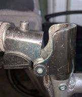 Half Folding Back Hinge for Z Tec SP18 Wheelchair