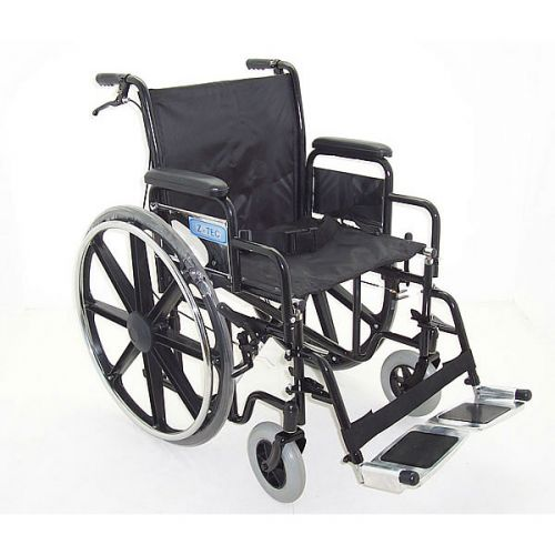 ZTec 600 690 Heavy Duty Steel Wheelchair 20inch seat