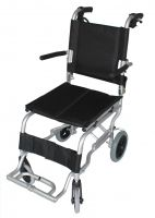 ZTec Folding Aluminium Travel Wheelchair and Bag