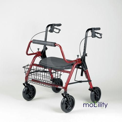 Bariatric Heavy Duty Rollator 46 stone max user weight