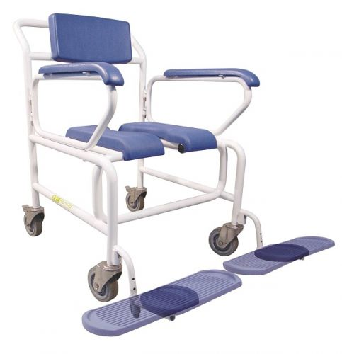 Commode Shower Chair Bariatric Wheeled