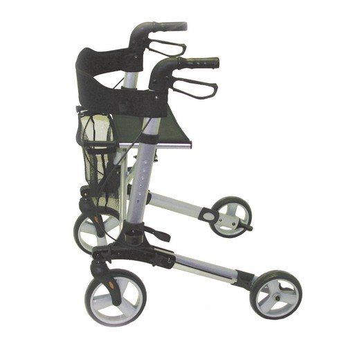 Deluxe Rollator 4 Wheel walker