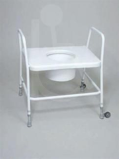 Bariatric Extra Wide Toilet Frame with Sleeve