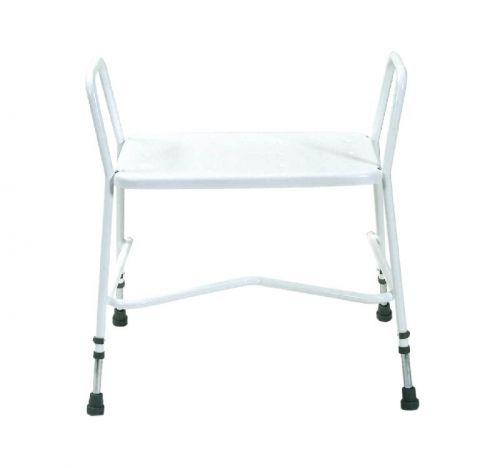 Heavy-Duty adjustable height shower stool