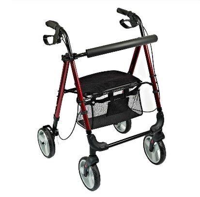 Lightweight 6kg Four Wheeled Rollator