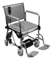 Linton Lift Assist Mobile Commode