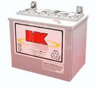 MK AGM Battery 12 Volt 34 Ah Mobility Battery