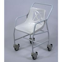 Mobile Shower Chair with Arms