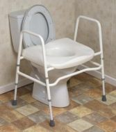 Mowbray Extra Wide Toilet Frame and Seat