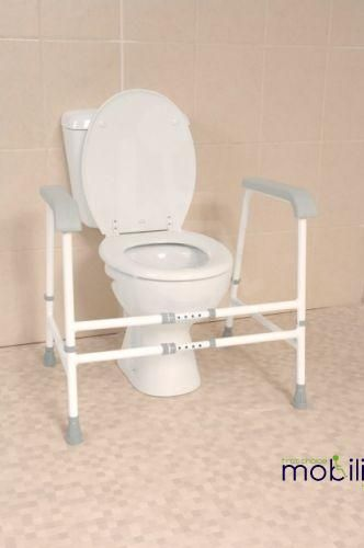 Nuvo Width Adjuatable Free Standing Toilet Frame