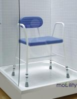 Wide Polyurethane Shower Stool