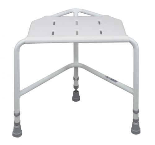 Penbury Height Adjustable Corner Shower Stool