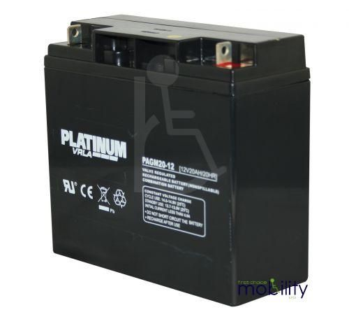 Platinum 12 Volt 20 Ah Battery
