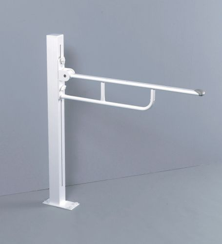 Pressalit Floor Fixed Folding Support Rail Height Adjustable
