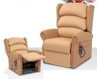Primacare Express Vinyl and Vapour Permiable Rise and Recline Armchair