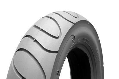 2 x Puncture Proof Storm 3 Powerchair Solid Infilled Scallop Tread Front Tyre 300 X 6