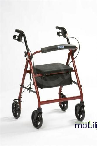 Lightweight Aluminium Rollator, Easy to Fold