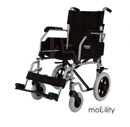 Roma Medical 1630 Crash Tested Attendant Wheelchair