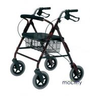 Roma Heavy Duty Rollator 28 Stone User Weight