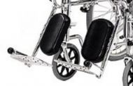 Pair Of Elevating Legrests For A Roma 1473X Wheelchair
