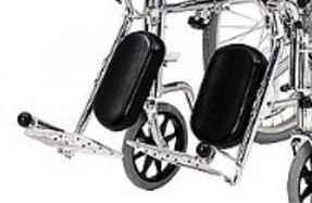 Pair Of Elevating Leg Rests For A Roma 1710 Wheelchair