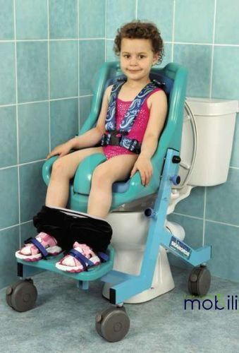 Seahorse Sanichair Small Shower and Toileting Chair