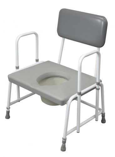 Suffolk Bariatric Commode with Detachable Arms