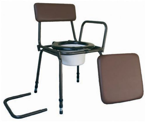 Surrey Height Adjustable Stacking Commode
