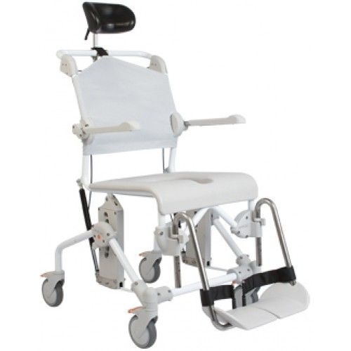 Swift Mobile Tilting Shower and Commode Chair