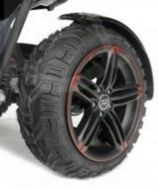 Replacement Off Road Rear Tyre For TGA Vita X