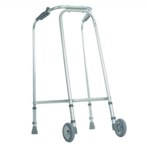 Ultra Narrow Lightweight Walking Frame with Wheels