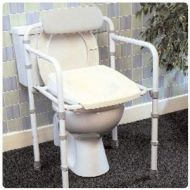Uni-Frame Folding Toilet Rail