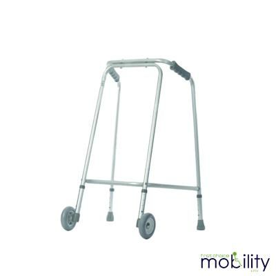 Wheeled Lightweight Zimmer Walking Frame