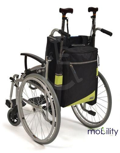 Wheelyscoot Crutch Bag for Wheelchairs