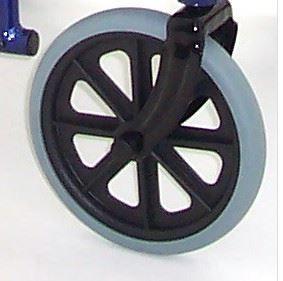 Z-Tec zt 600-601AH-D Castor Wheels x 2