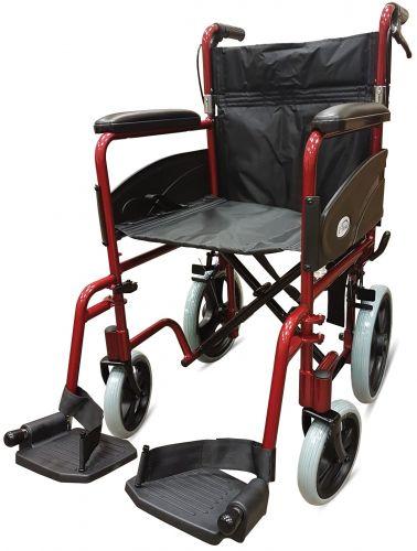 Z Tec 600 601X Attendant Wheelchair 19 inch Seat Width