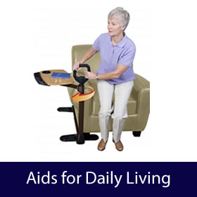 Aids to Daily Living - Washing, Bathing, Toileting, Easting, Drinking, Hadling, Moving, Support