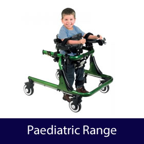 Paediatric Range - Childrens Walkers, Wheelchairs, Trikes and Bikes, Daily Living Aids, Accessories