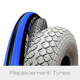 Replacement Tyres - Wheelchair Tyres, Scooter Tyres