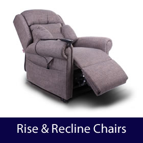 Chairs - High Back Chairs and Rise Recline Chairs